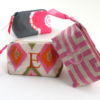 Personalized Printed Cotton Coin Purse by Objects of Desire