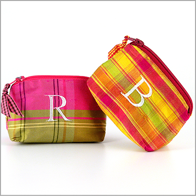 Personalized Coin Purses & Lipstick Cases by Objects of Desire